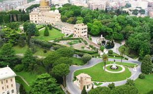 Jardins do Vaticano, Roma, Itália